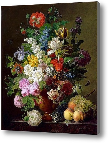 Ваза с цветами картины фото