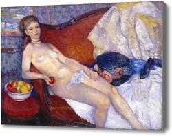 Картина Голая с яблоками