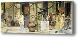 Картина Старинный праздник