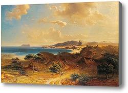 Картина Пляж Эстепона