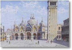 Купить картину Площадь Св. Марко в Венеция