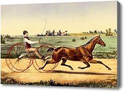 Картина Езда на колестнице