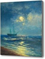 Картина Море в лунном свете