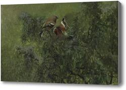 Картина Бофинкар в зелени