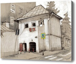 Картина Московские зарисовки