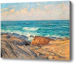 Купить картину Скалы на берегу