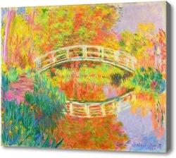 Купить картину Японский пешеходный мост, Живерни