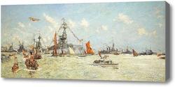 Картина Авианосец HMS Furious