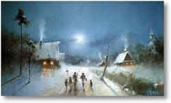 Купить картину Рождество