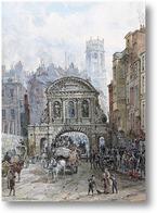 Купить картину Лондон.Темпл Бар