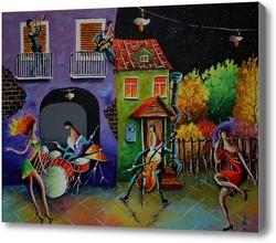 Купить картину Осень танцует
