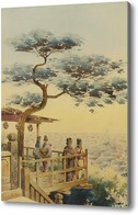 Картина Йеддо, Япония