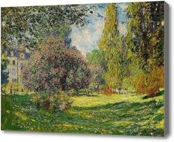 Картина Парк Монсо