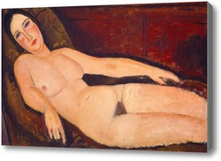 Картина Обнаженная на диване, 1918