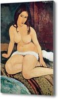 Картина Сидящая обнаженная