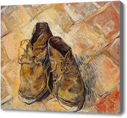 Купить картину Пара старых ботинок, 1888