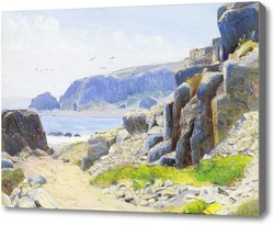 Картина На побережье, Чили
