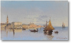 Картина Вид Венеции