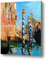 Картина Гранд канал в Венеции