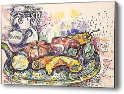 Картина Натюрморт с овощами