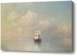 Картина СПОКОЙНЫЕ МОРЯ 1884