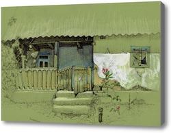 Картина Старенький домик