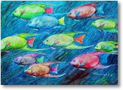 Картина Рыбы
