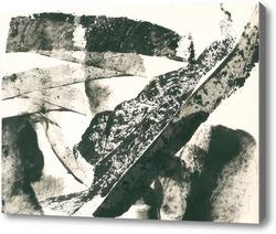 Картина абстрактный пейзаж