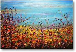 Картина Осенний луг