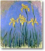 Картина Желтые ирисы
