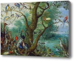 Картина Птичий концерт