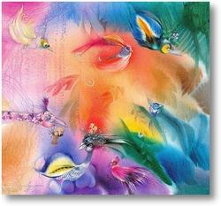 Картина Птичий мир