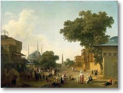 Купить картину Улица в Стамбуле