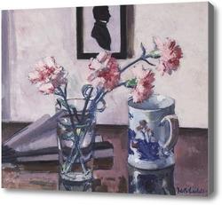 Картина Розовые гвоздики