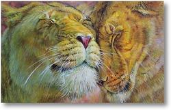Картина Львы