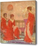 Картина Гармония цвета, Уистлер Джеймс