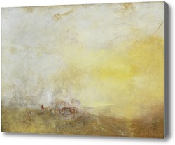 Картина Восход с морскими чудовищами