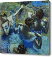 Картина Балерины в голубом
