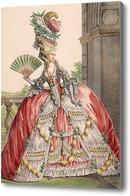 Картина Красавица с веером