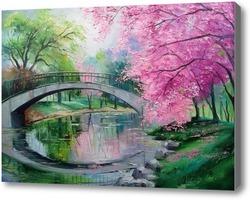 Картина Цветение сакуры