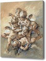 Картина Шаловливые ангелы