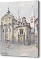 Картина Георгская Базилика. Прага, Янша Вацлав