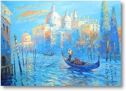 Купить картину Голубая Венеция