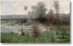 Картина Французский пейзаж