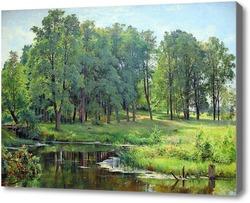 Картина В парке