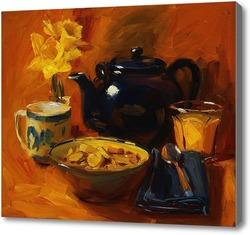 Картина Чайный натюрморт