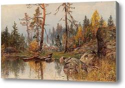 Картина Осеннее настроение