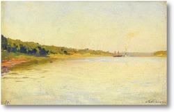 Картина Волга, 1884