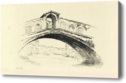 Картина Венеция,Риальто