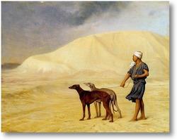 Картина По пустыне,